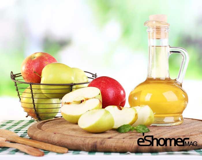 مصرف  سرکه سیب و فواید آن برای سلامتی