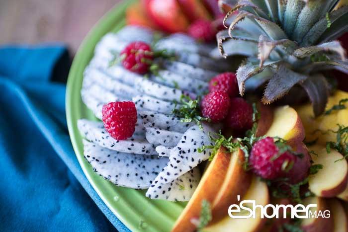 مجله خبری ایشومر ExoticFruitPlatter-tropical-mag-eshomer انواع میوه های استوایی وخواص  شگفت انگیز درمانی آنها(قسمت اول) آشپزی و غذا سبک زندگي  میوه های شگفت سالاک رامبوتان درمانی خواص پوملو انگیز استوایی SALAK RAMBUTAN POMELO