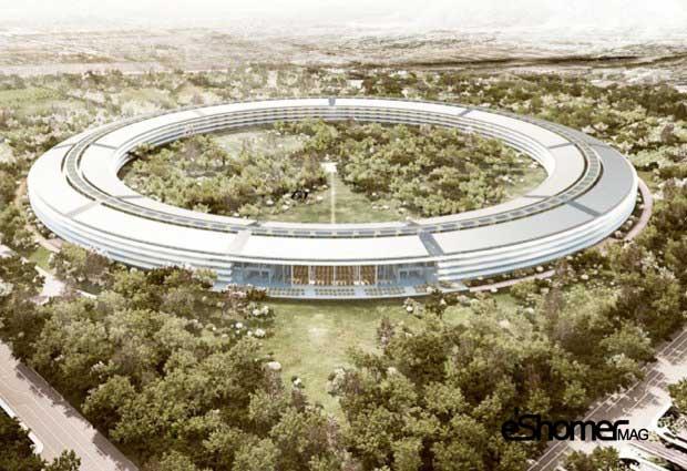 مجله خبری ایشومر apple-building-mag-eshomer5 پروژه ساخت مرکز دوم اپل و تصاویر و پیشرفت آن تكنولوژي نوآوری  مرکز مجله ساخت دوم خبری تصاویر پیشرفت پروژه ایشومر اپل