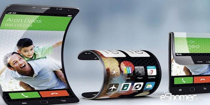 مجله خبری ایشومر mobile-curve-mag-eshomer گوشی های تاشو و آینده موبایل ها و تبلت ها تكنولوژي  هوشمند موبایل مجله گوشی گلکسی سامسونگ خبری تبلت تاشو ایکس ایشومر آینده X OLED 2017
