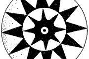مفاهیم نمادین نقوش سفال در دوران پیش از تاریخ در گرافیک امروز-نقش خورشید ( بخش دوم )
