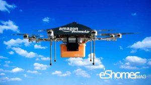 مجله خبری ایشومر Amazon-drone-mag-eshomer-300x169 طرح جدید آمازون برای انبار های سیار هوایی خود سبک زندگي  هوایی هوابرد غول طرح سیار جدید پیکر پهپهاد انبار آمازون Tech Crunch