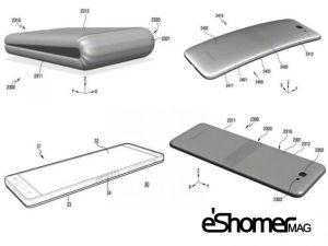 مجله خبری ایشومر Samsung-foldable-mag-eshomer-300x225 پتنت گوشی خمیده و انعطاف پذیر شرکت سامسونگ منشر شد تكنولوژي موبایل و تبلت  گوشی شرکت سامسونگ خمیده پذیر پتنت انعطاف Plus Galaxy