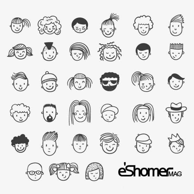 مجله خبری ایشومر hand-drawn-face-icons_mag-eshomer راز و رمز چهره ها حقایق پنهان آن ( قسمت اول) سبک زندگي کامیابی  نقش نفرت لبخند عصبانیت شادی رمز راز حقایق چهره ترس پنهان احساس