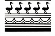مفاهیم نمادین نقوش سفال در دوران پیش از تاریخ در گرافیک امروز - نقش مار و پرنده ( بخش چهارم )