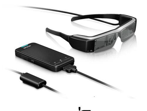 عینک جدید هوشمند اپسون Moverio BT-100 با وضوح 540 *960 پیکسل