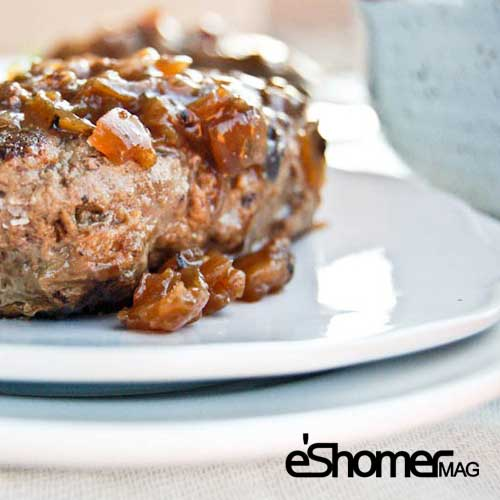 مجله خبری ایشومر Salisbury-Steak-mag-eshomer طرز تهیه استیک سالیسبری به روش سالم آشپزی و غذا سبک زندگي  قاشق سالیسبری سالم روش تهیه استیک X طرز