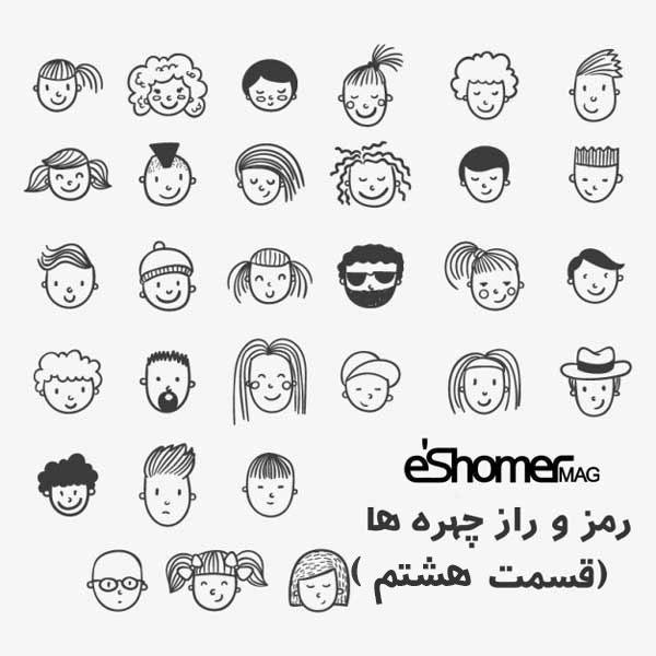 مجله خبری ایشومر hand-drawn-face-icons-8-mag-eshomer راز و رمز چهره ها حقایق پنهان آن ( قسمت هشتم ) تازه ها سبک زندگي  راز و رمز چهره ها درون گرا حقایق چهره باز تکامل یافته پنهان