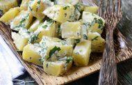 تهیه و پخت انواع غذاهای ایتالیایی سالاد سیب زمینی ایتالیایی