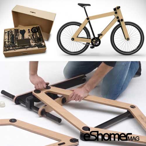 دوچرخه ای که به سادگی یک ساندویچ ساخته میشود