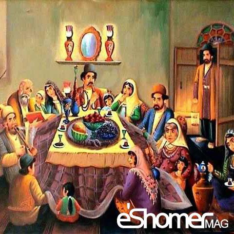 مجله خبری ایشومر yalda-cermony-1-mag-eshomer جشن های ایرانی جشن یلدا  تولد میترا و مسیح  شب نشینی بلندترین شب سال سبک زندگي کامیابی  یلدا نشینی میترا مسیح شب سال جشن تولد بلندترین ایرانی