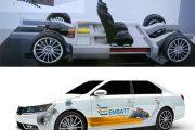 باتری یکپارچه با شاسی EMBATT تکنولوژی های برجسته خودرویی سال 2016