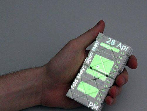 تلفن هوشمند پدل با الهام از جورچین روبیک