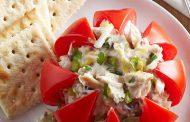 تهیه و پخت انواع غذاهای ایتالیایی گوجه فرنگی پر شده با تن و مایونز