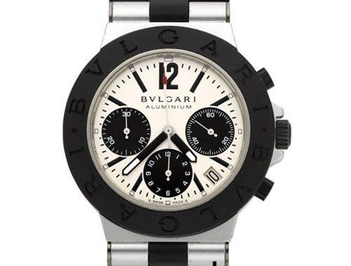 ساعتهای خاص از برندهای مشهور Bulgari Diagono Aluminium Chrono