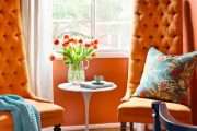 معنا و جایگاه رنگ نارنجی در طراحی فضاهای داخلی مدرن