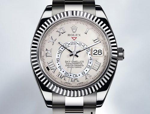 نوآوری های دنیای ساعت مچی Sky Dweller ساخت Rolex