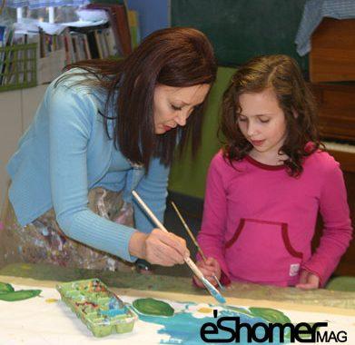 چه موقع و چگونه باید نقاشی به کودکان آموزش داده شود