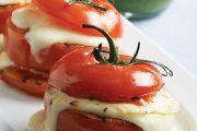تهیه و پخت انواع غذاهای ایتالیایی سالاد گریل کاپری با  پنیر موزارلا