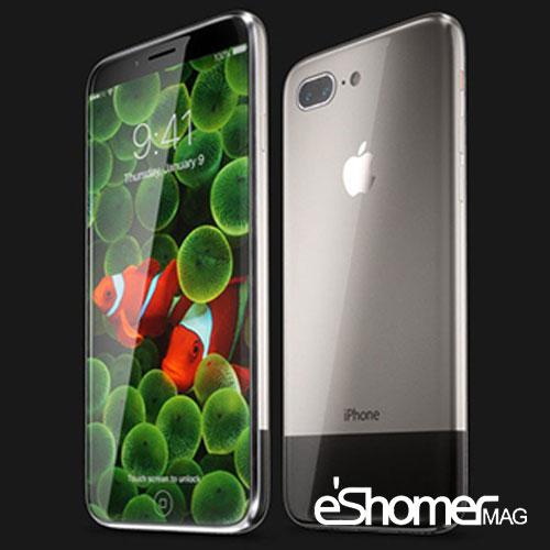 پرچمدار کانسپت شرکت اپل آیفون ایکس iPhone X یا آیفون 10