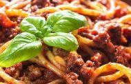 تهیه و پخت انواع غذاهای ایتالیایی – اسپاگتی بلونز