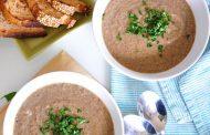 تهیه و پخت انواع غذاهای ایتالیایی – سوپ قارچ