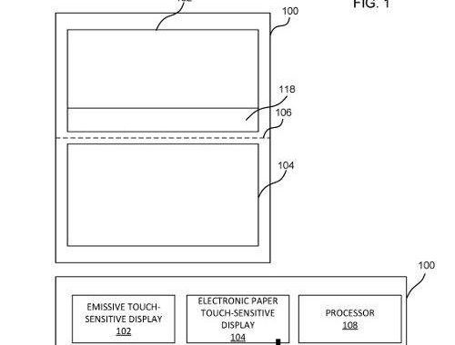 پتنت جدید مایکروسافت به همراه تکنولوژی جدید e-ink