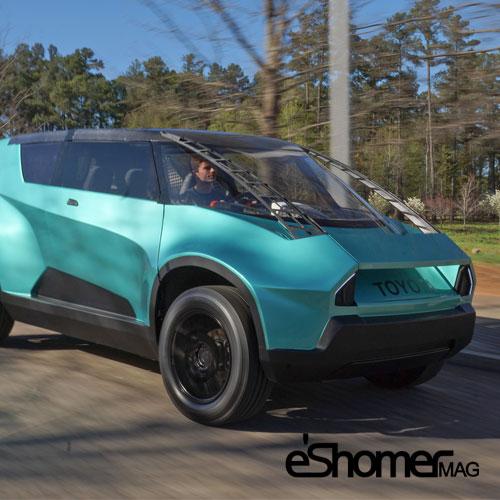 خودروی مفهومی تویوتا uBox تکنولوژی های برجسته خودرویی سال 2016