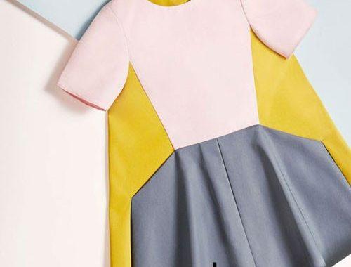 رنگ های مناسب لباس کودک در طراحی مد ولباس