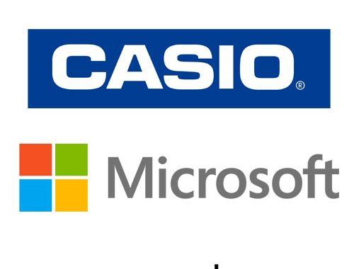 ساخت تجهیزات پوشیدنی با همکاری مایکروسافت و کاسیو