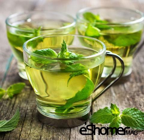 چای نعناع و اثر درمانی آن در گلو درد و اسهال