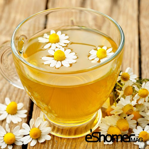 کمپرس چای گل بابونه در بهبود دردهای چشمی
