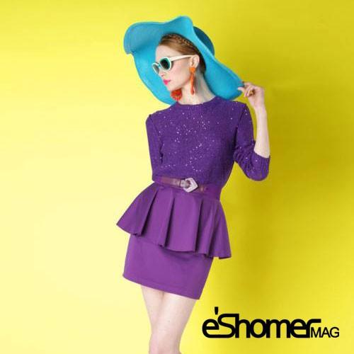 انتخاب رنگ مناسب لباس با توجه به نوع اندام در طراحی مد وپوشاک1