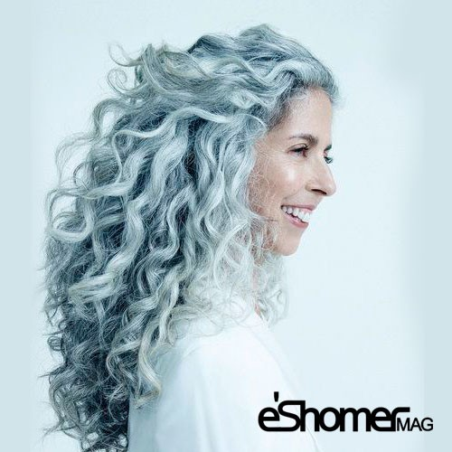 رنگ های مناسب لباس برای افراد با موهای خاکستری در طراحی مد و پوشاک