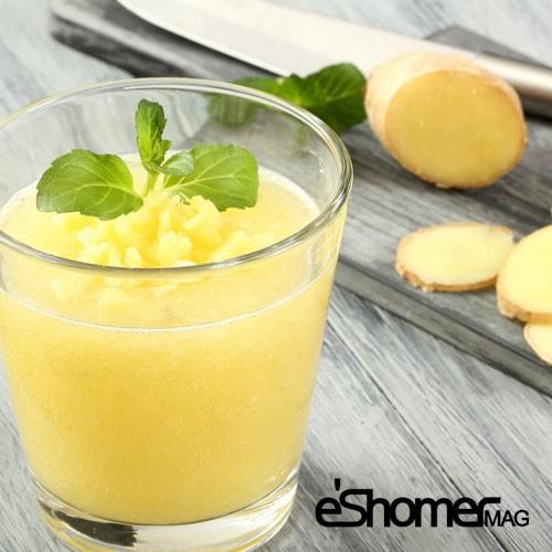 شربت زنجبیل و آناناس کاهش دهنده سلولیت و بافت های چربی پوست بدن