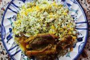 معرفی نحوه پخت مشهورترین غذاهای محلی سنتی ایران – باقالی پلو با ماهیچه