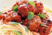 تهیه و پخت انواع غذاهای ایتالیایی _ اسپاگتی با کوفته قلقلی