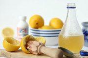 مخلوط گلیسیرین با آب لیمو برای صاف و نرم کردن پوست دست