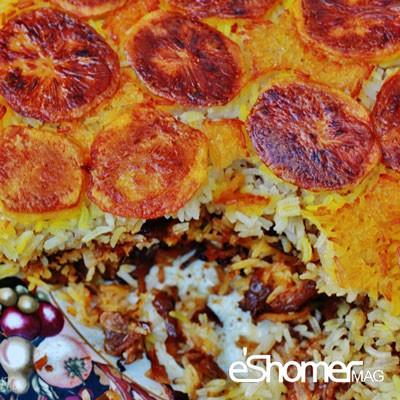 معرفی نحوه پخت مشهورترین غذاهای محلی سنتی ایران _ شیرازی پلو
