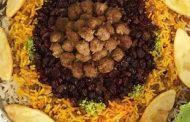 معرفی پخت مشهورترین غذاهای محلی سنتی ایرانی_ته چین عدس پلو با گوشت