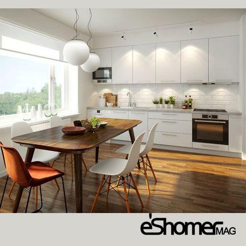 ویژگی های آشپزخانه و نهار خوری طبق فنگ شویی در طراحی داخلی3