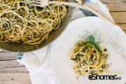 تهیه و پخت انواع غذاهای ایتالیایی _ اسپاگتی سیسیلی