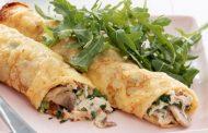 تهیه و پخت انواع غذاهای ایتالیایی _ کرپ با سس قارچ