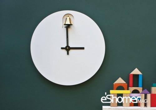طراحی ساعت خلاقانه توسط طراح ایتالیایی