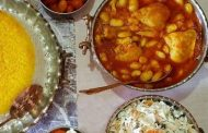 معرفی پخت مشهورترین غذاهای محلی سنتی ایرانی _ خورش لوبیا سفید