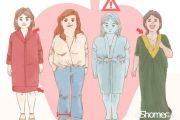 نحوه لباس پوشیدن صحیح در زنان – لباس مناسب برای فرمهای مختلف بدن 2