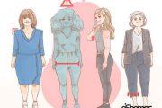 نحوه لباس پوشیدن صحیح در زنان – لباس مناسب برای فرمهای مختلف بدن 3
