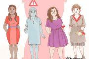 نحوه لباس پوشیدن صحیح در زنان – لباس مناسب برای فرمهای مختلف بدن 5