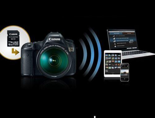 نحوه کار وای فای WIFI با دوربین های کانن canon چگونه است؟