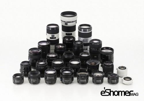 راهنمای خرید انواع لنزهای دوربین دیجیتال در آموزش عکاسی